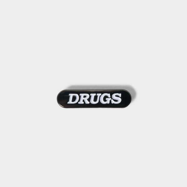 Good Worth Drugs Pin Badge Other Stuff - CARTOCON