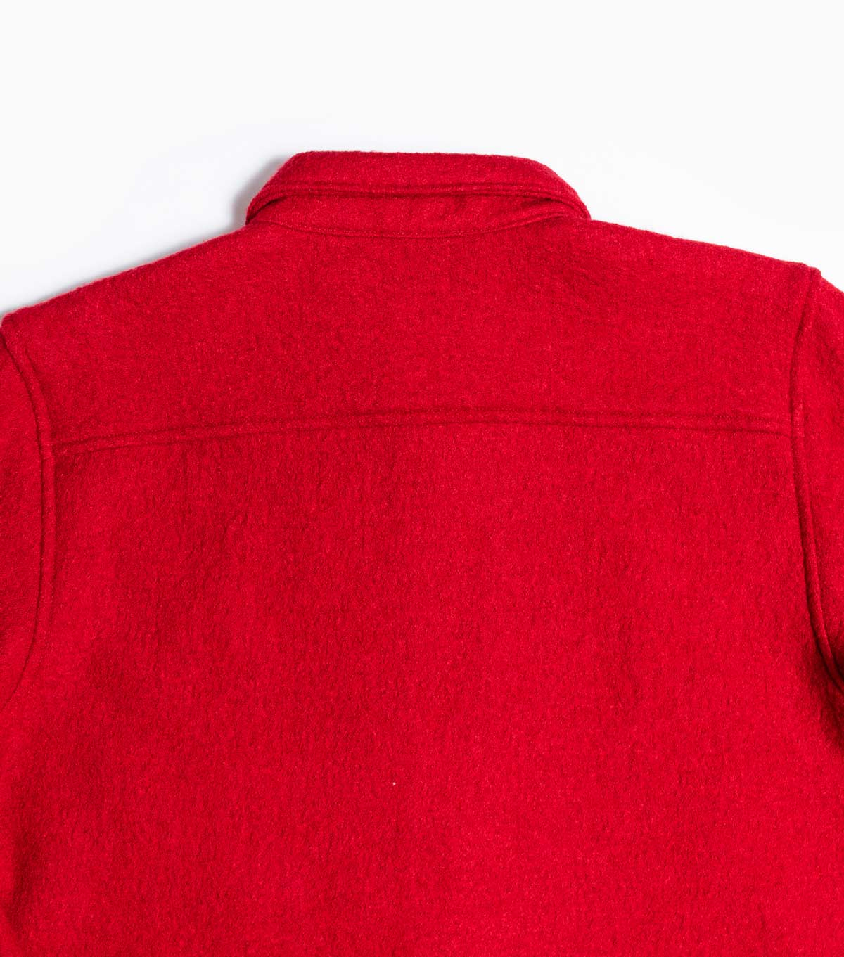 Garbstore Twin Map Wool Boucle Shirt - Red