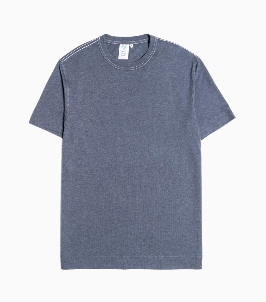 Garbstore Contrast Stitch T-Shirt - Steel Grey