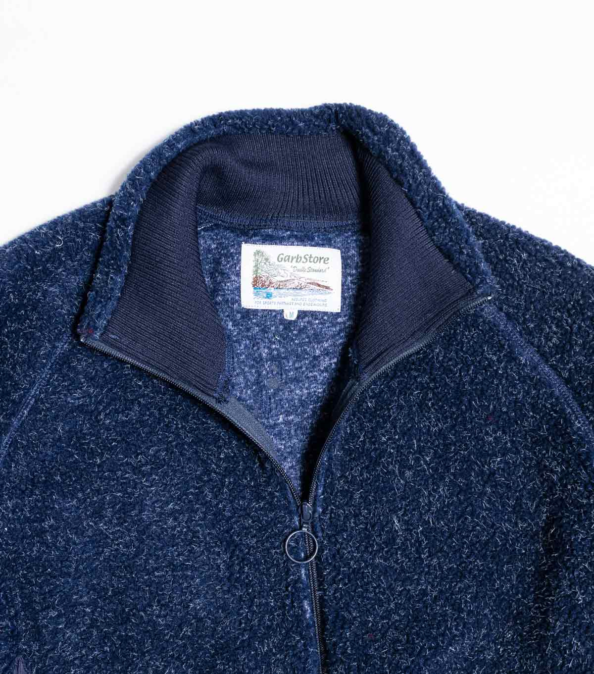 Garbstore Alley Fleece Jacket - Navy