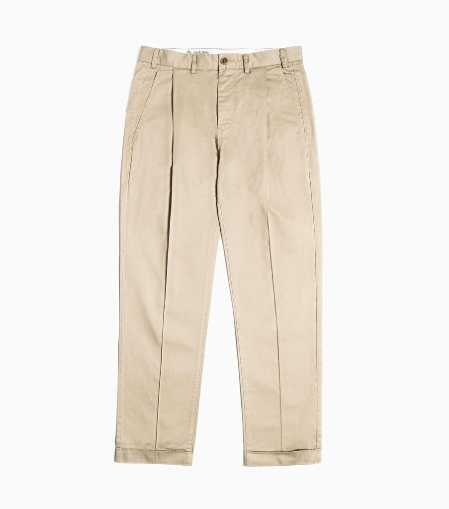 Garbstore Pin Slacks - Tan
