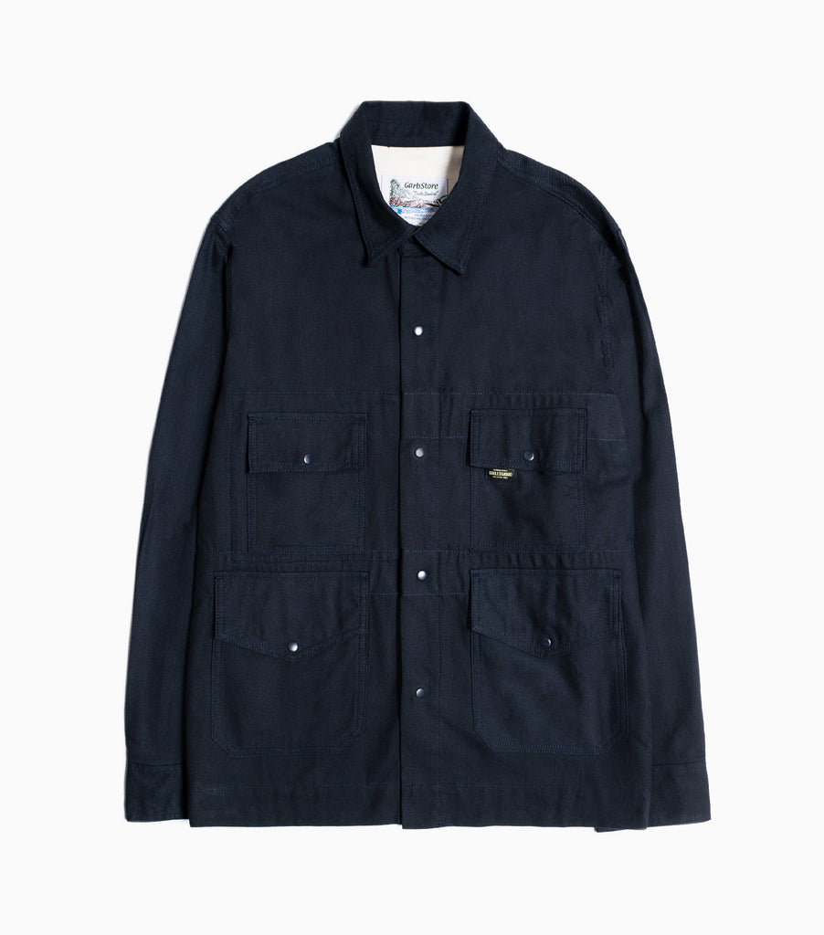 Garbstore Flight Overshirt - Navy