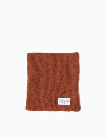 Garbstore The English Difference Neck Warmer - Rust