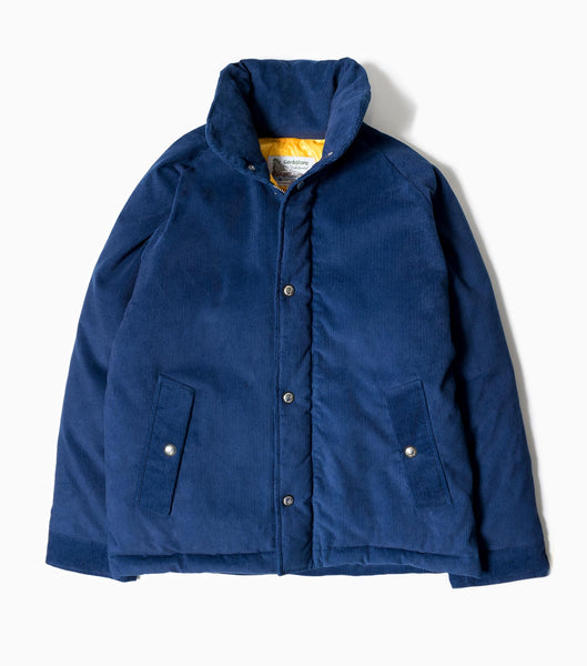 Garbstore Goose Down Hunter Jacket - Indigo Jacket - CARTOCON