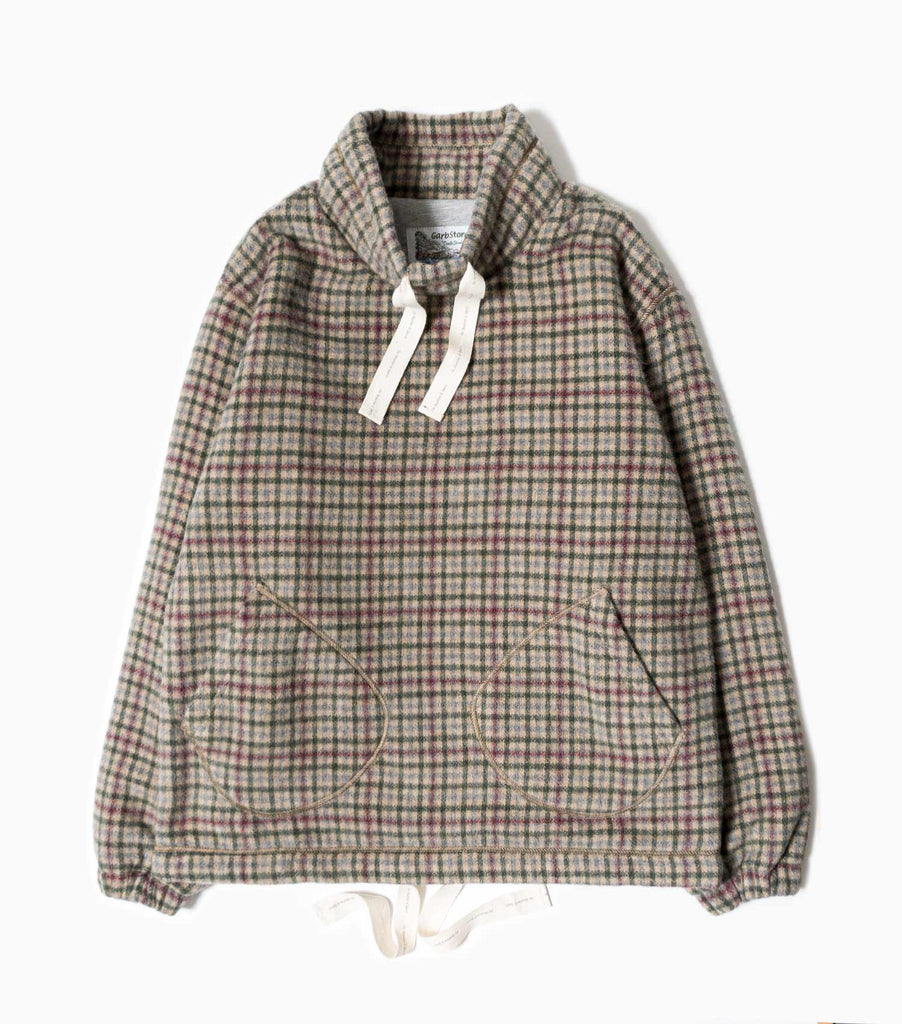 Garbstore Japanese Yarn Trouble Smock - Green/Red