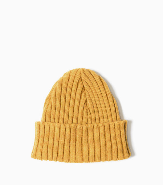 Garbstore The English Difference Beanie - Yellow Hat - CARTOCON