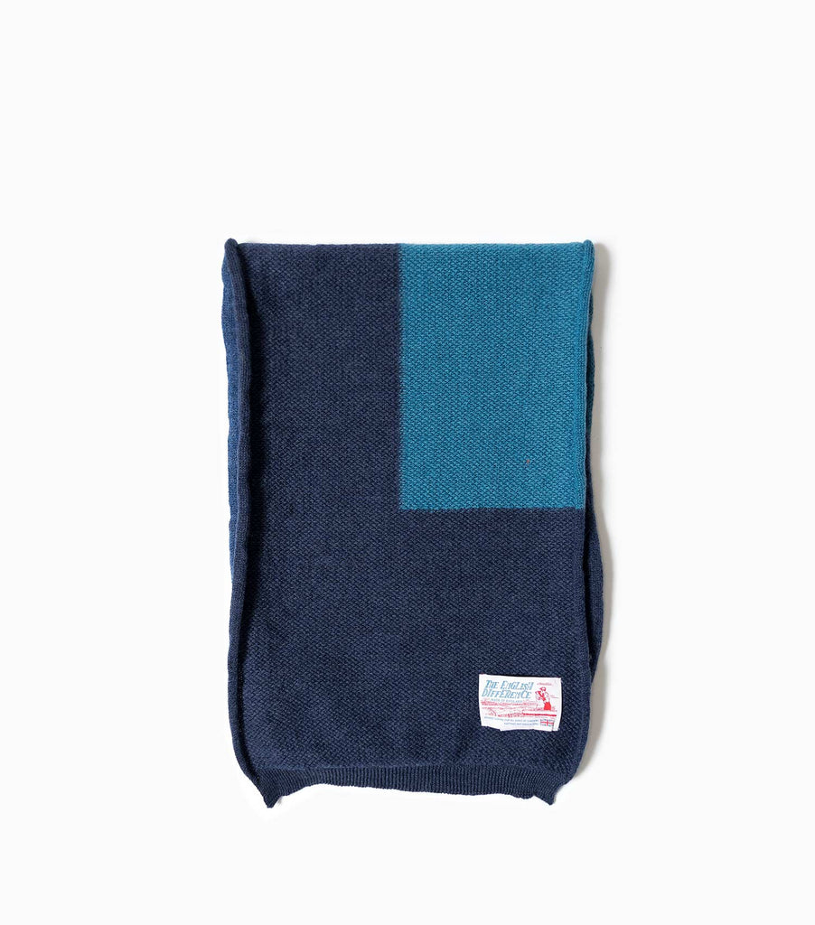 Garbstore The English Difference Indigo Scarf - Indigo