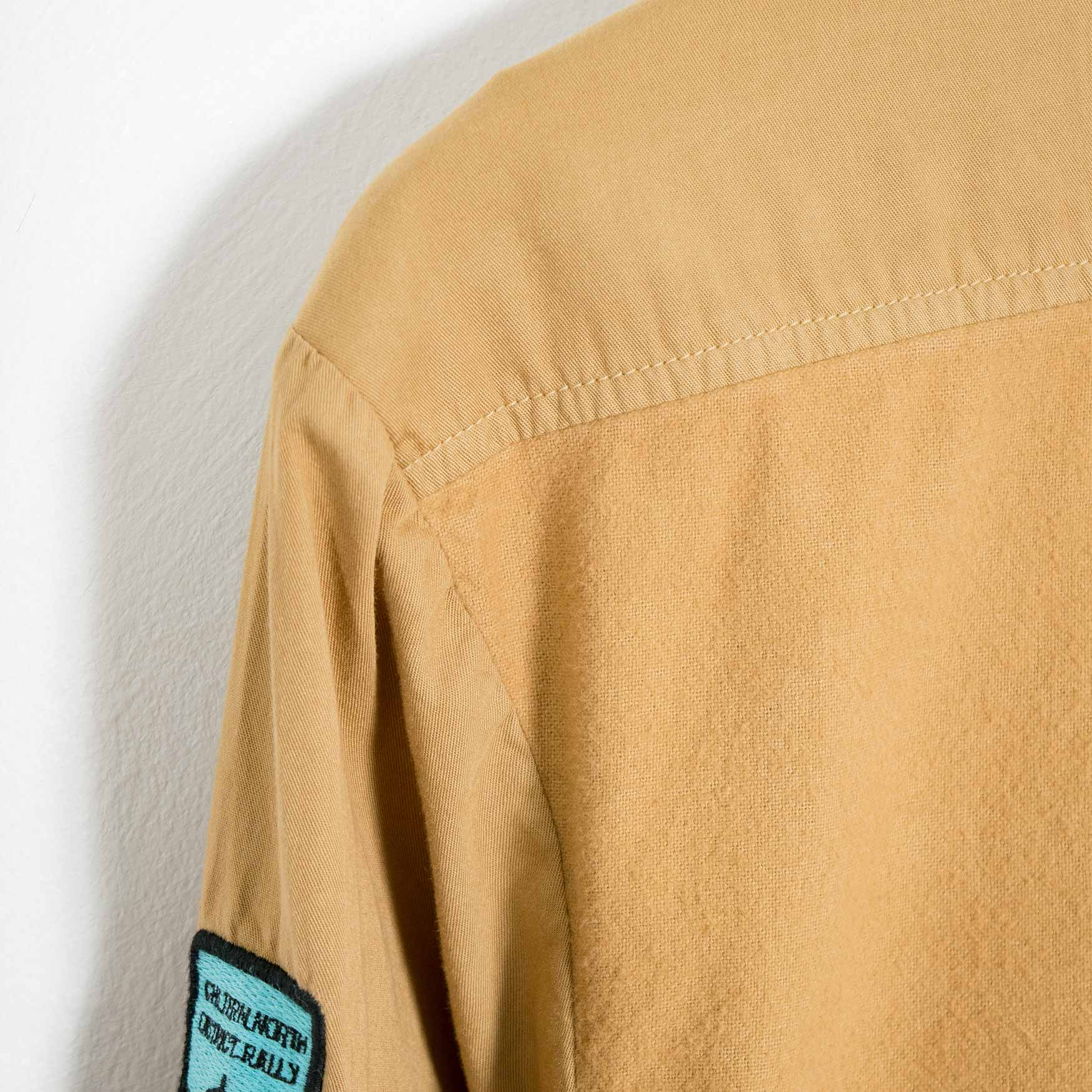 Garbstore CPU Softback Shirt - Tan