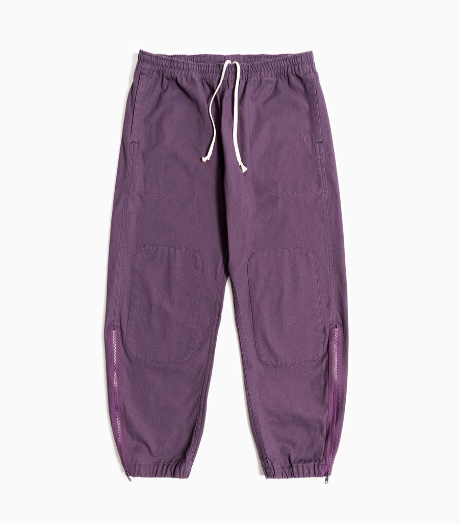 Garbstore Home Party Japanese Canvas Track Pant - Purple