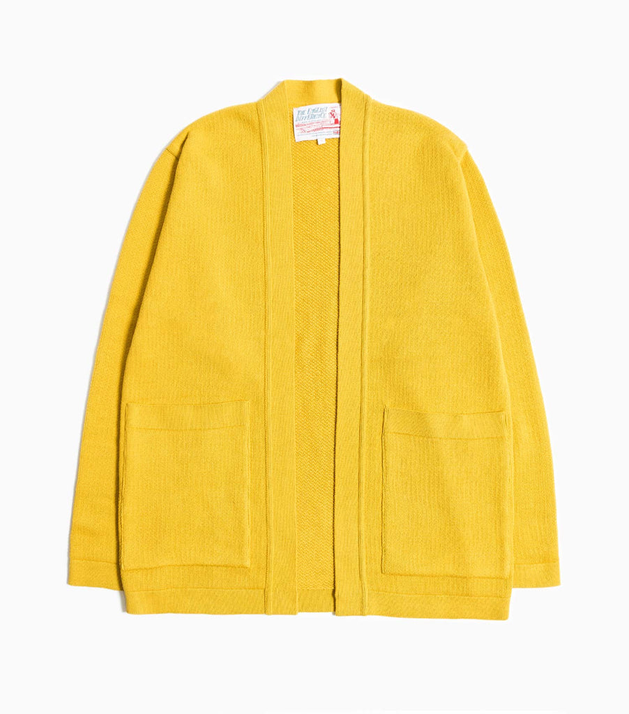 Garbstore The English Difference Kimono Style Cardigan - Yellow