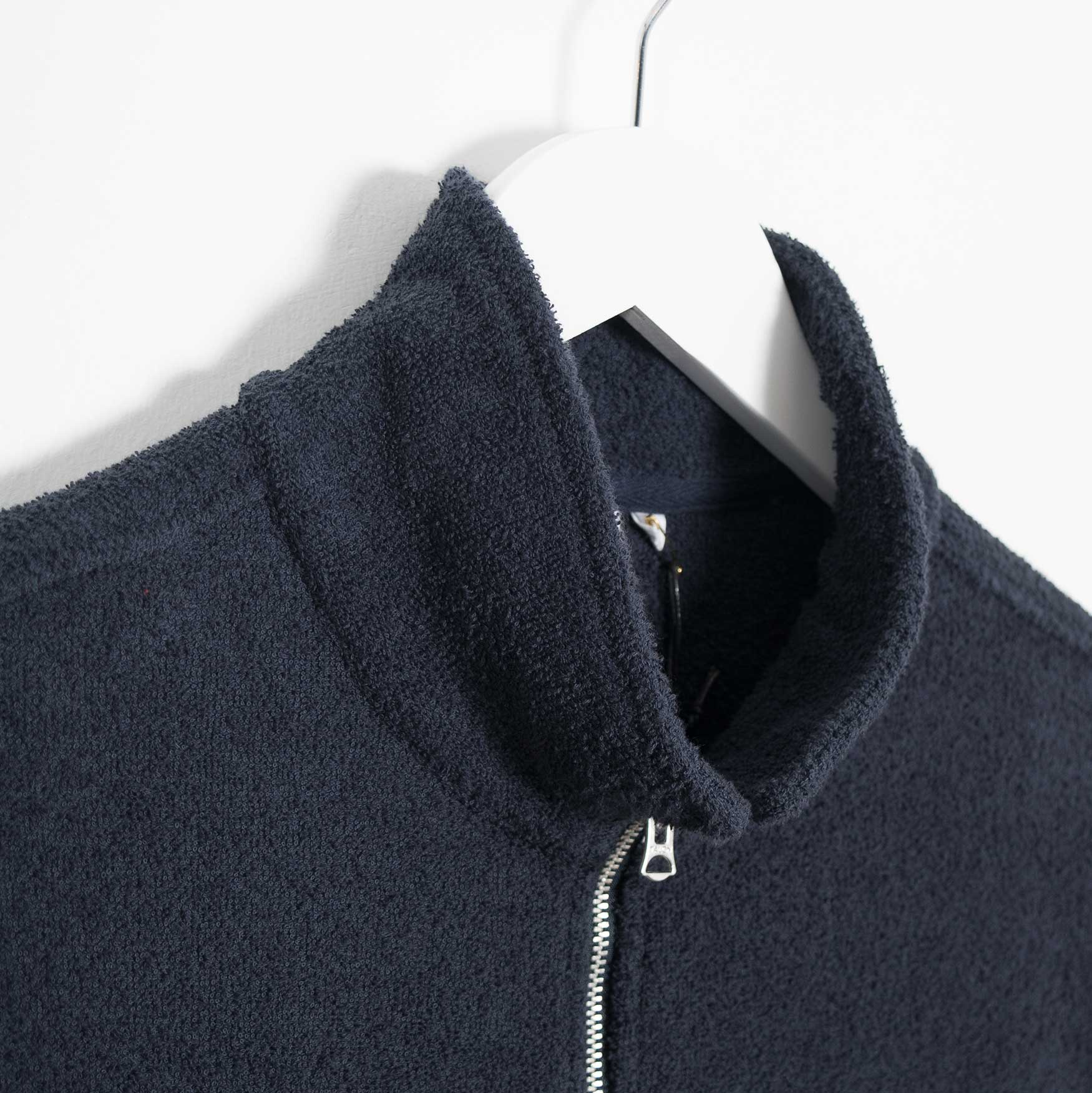 Garbstore Club Zip Up Jacket - Navy