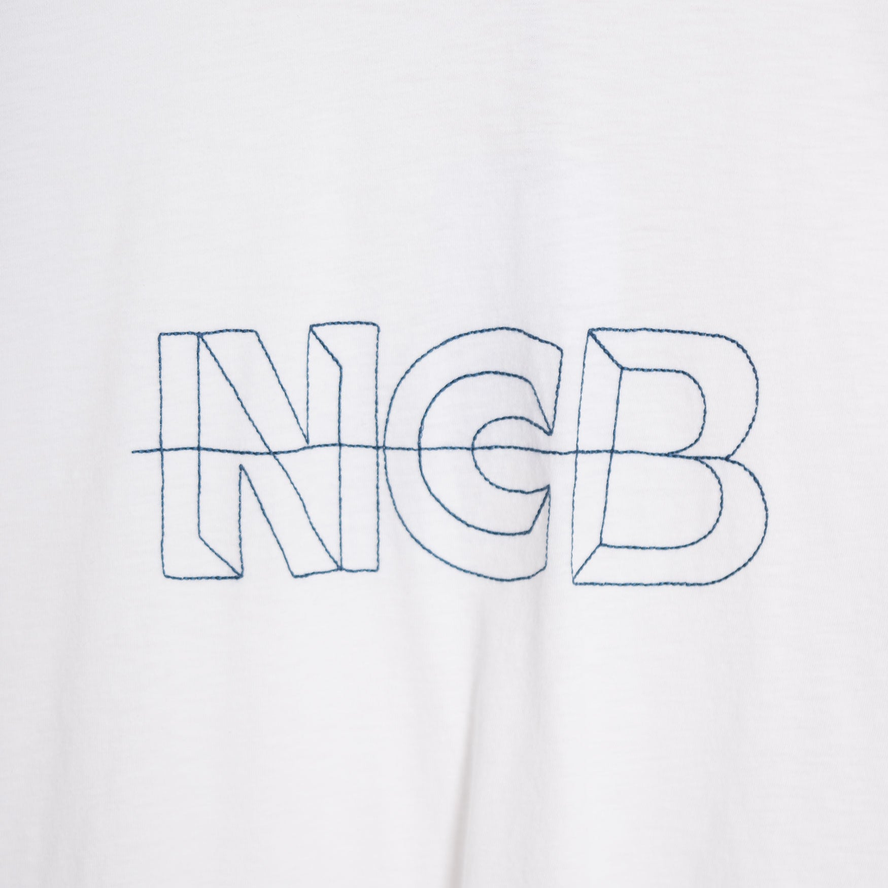Garbstore NCB Embroidered T-Shirt - White