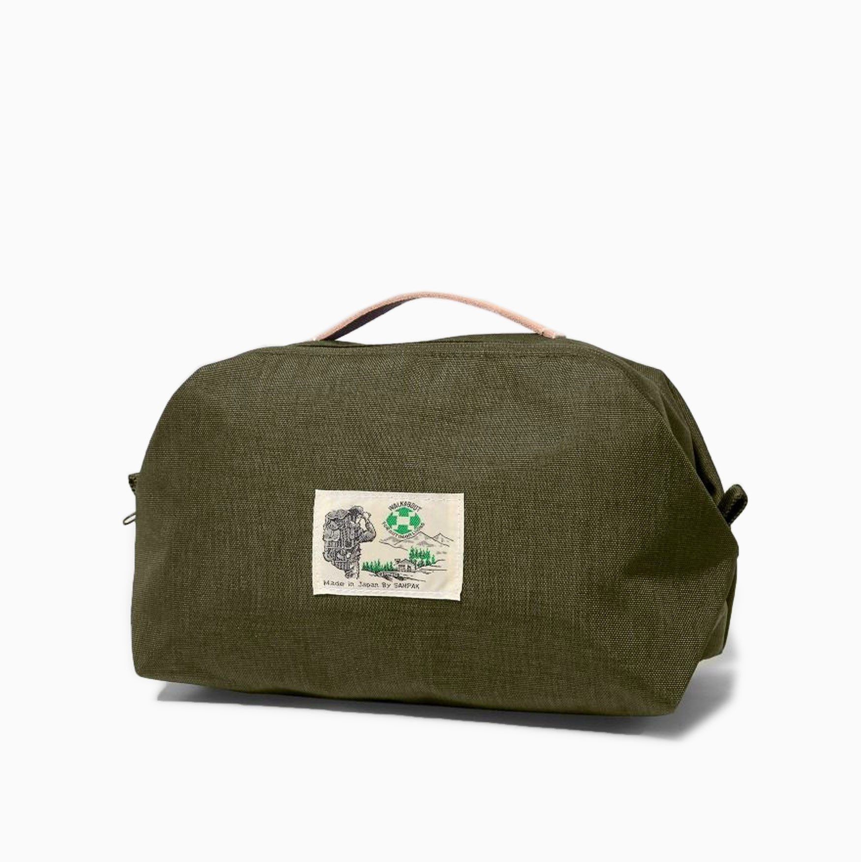 Garbstore x Sanpack Walkabout Washbag - Olive