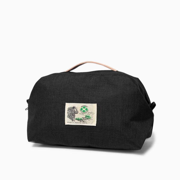 Garbstore x Sanpack Walkabout Washbag - Black Bag - CARTOCON