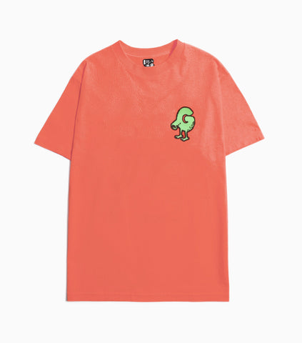 Gasius G Bert Goes Wild T-Shirt - Coral T-Shirt - CARTOCON