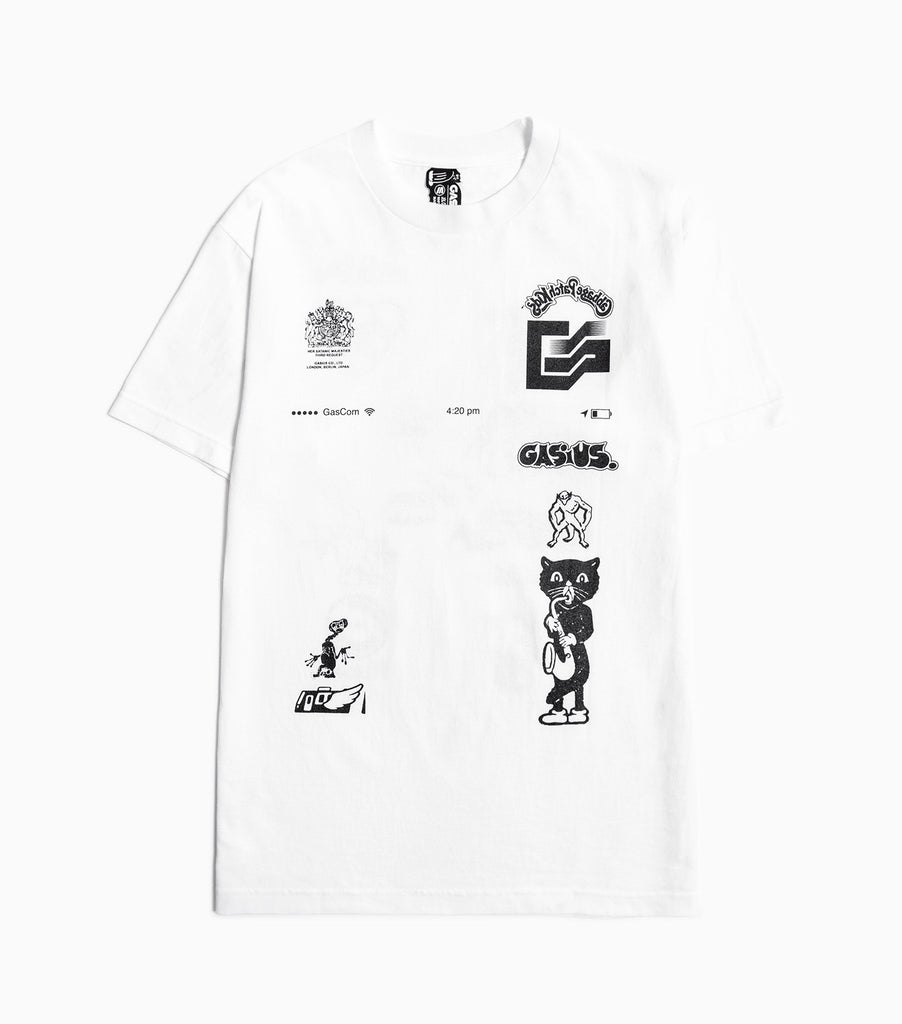 Gasius The Extra Gasius T-Shirt - White