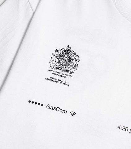 Gasius The Extra Gasius T-Shirt - White T-Shirt - CARTOCON