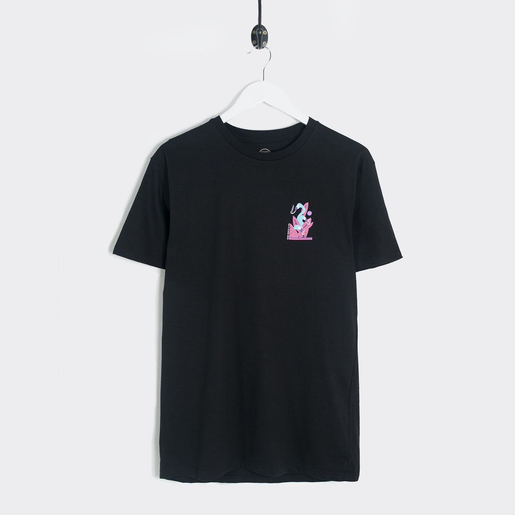 Good Worth Flamingo T-Shirt - Black