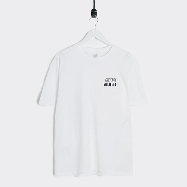 Good Worth Process T-Shirt - White
