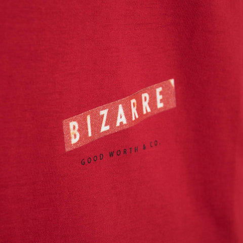 Good Worth Bizarre T-Shirt - Red T-Shirt - CARTOCON
