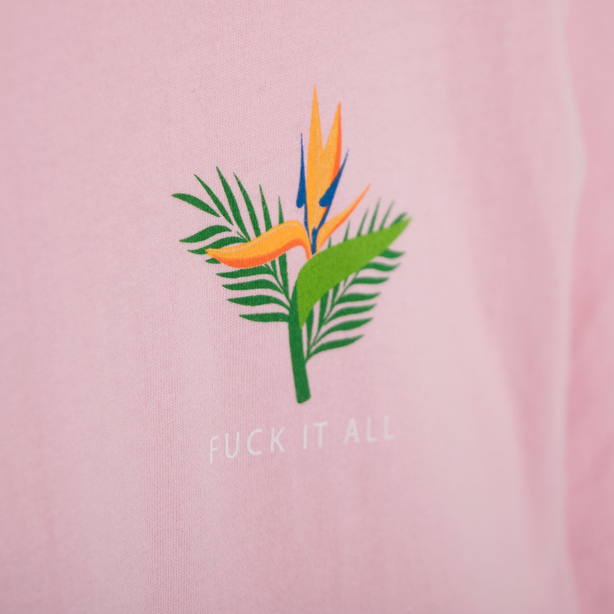 Good Worth Fuck It All T-Shirt - Pink