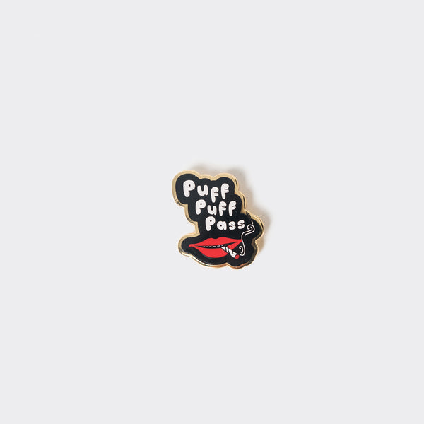 Good Worth Puff Puff Pass Pin Badge Other Stuff - CARTOCON