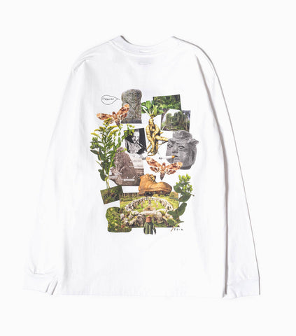 Heresy Growing Long Sleeve T-Shirt - White Long Sleeve T-Shirt - CARTOCON