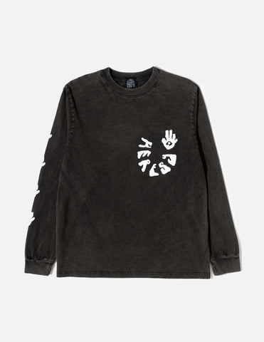 Heresy Righteous Long Sleeve T-Shirt - Ash