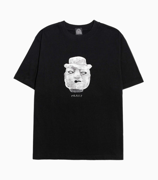 Heresy Brick Head T-Shirt - Black T-Shirt - CARTOCON