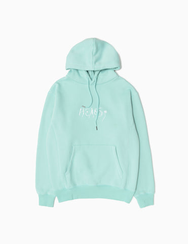 Heresy Cave Heavyweight Hoodie - Blue Hoody - CARTOCON