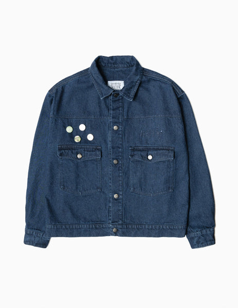 Heresy Deptford Denim Jacket - Indigo Jacket - CARTOCON