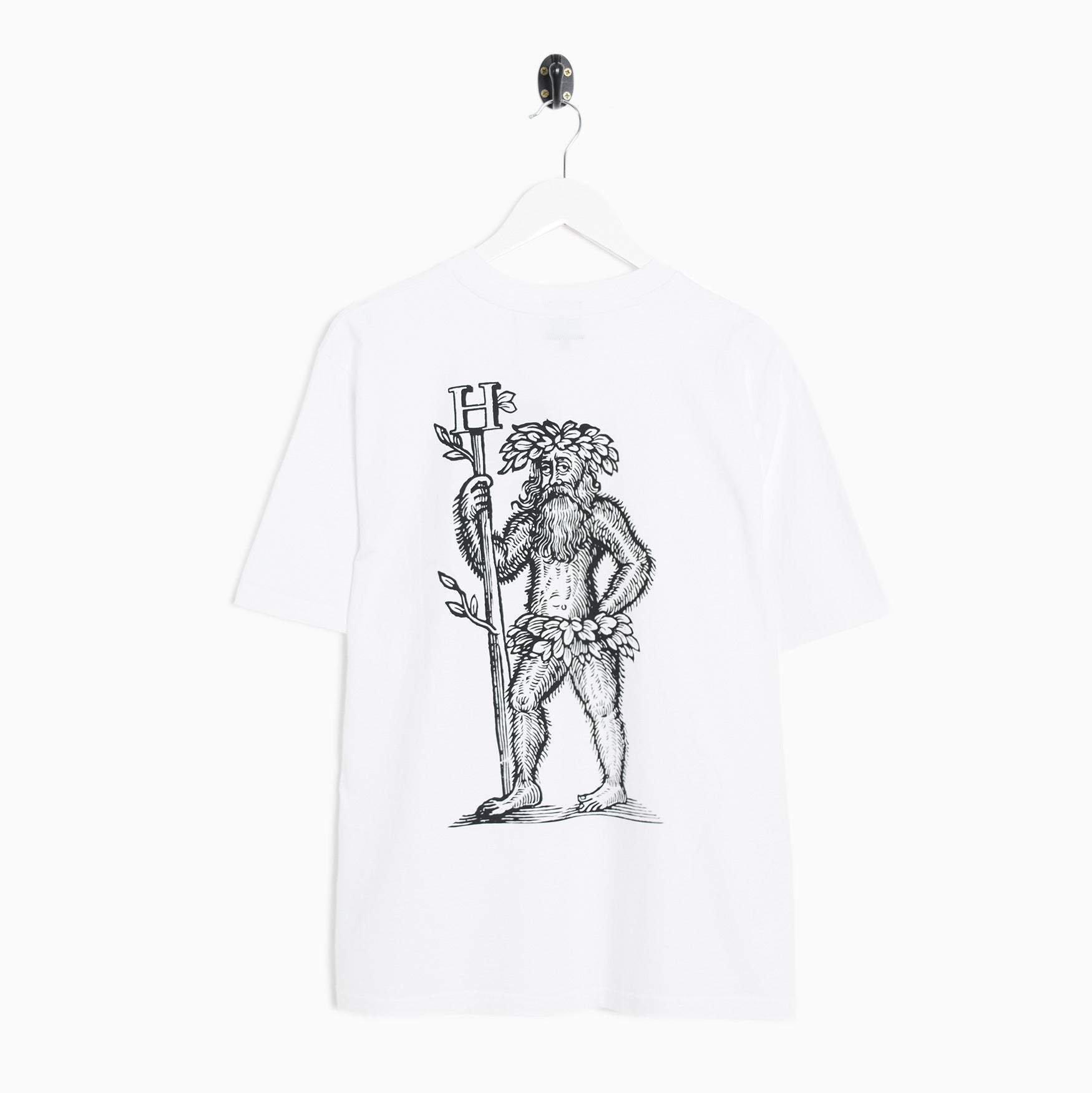 Heresy Green Man T-Shirt - White