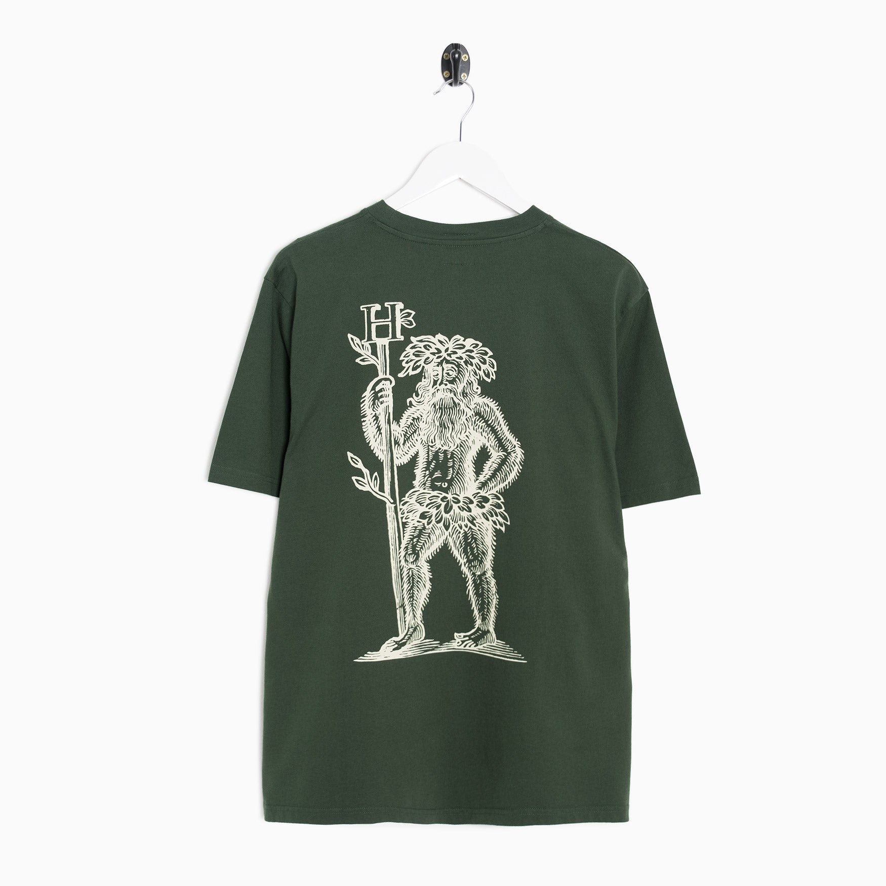 Heresy Green Man T-Shirt - Forest