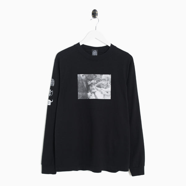 Heresy Bartle Long Sleeve T-Shirt - Black Long Sleeve T-Shirt - CARTOCON