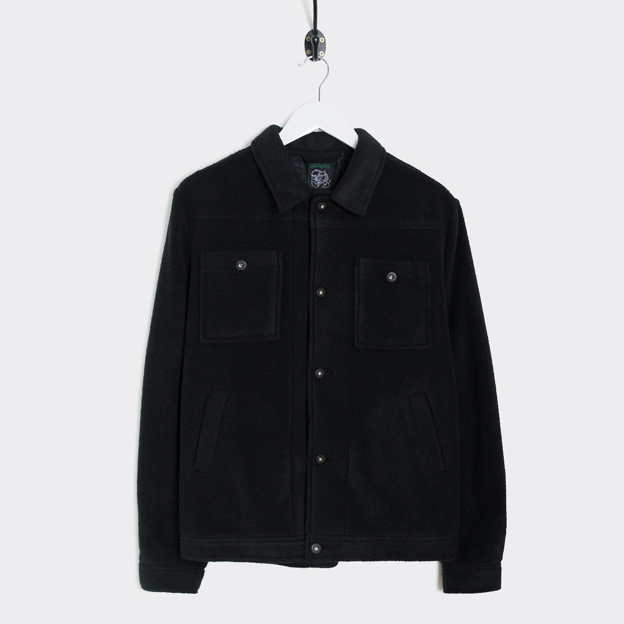 Heresy Alpine Fleece Jacket - Black