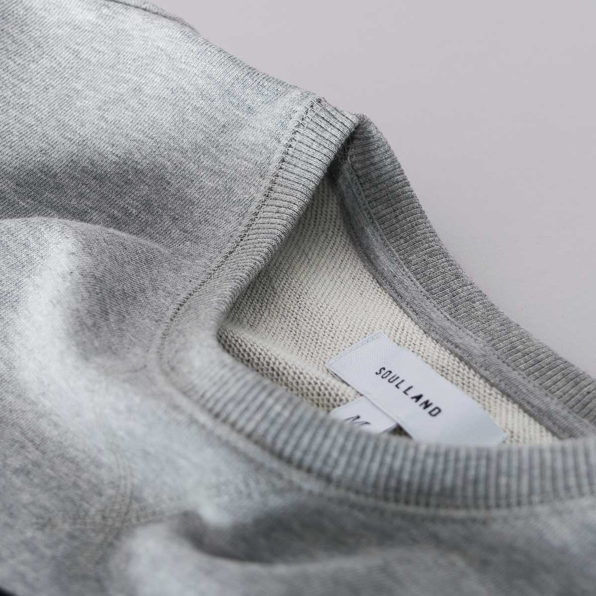 Soulland High Sweatshirt – Grey  - CARTOCON