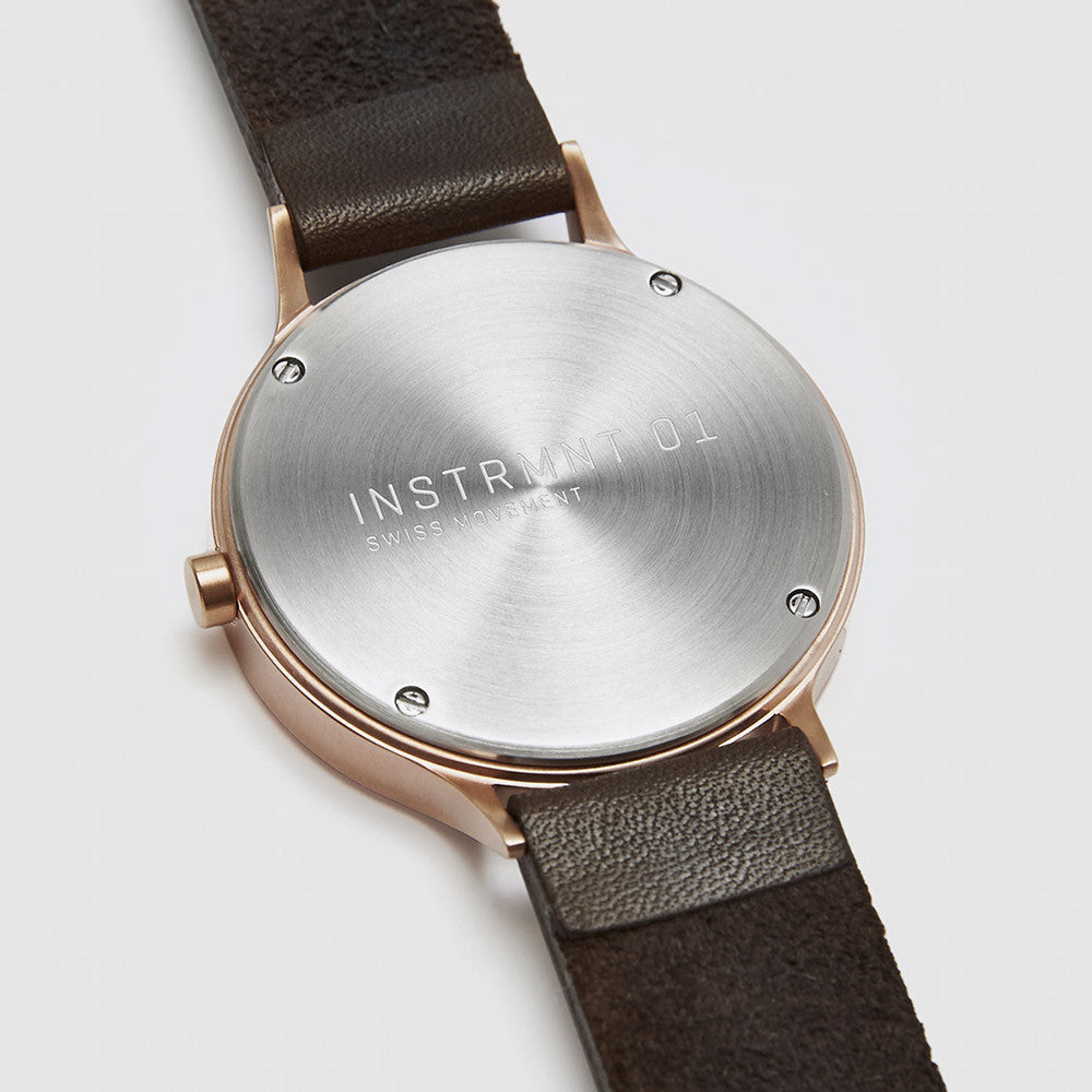 Instrmnt Watch 01B - Gold - 3