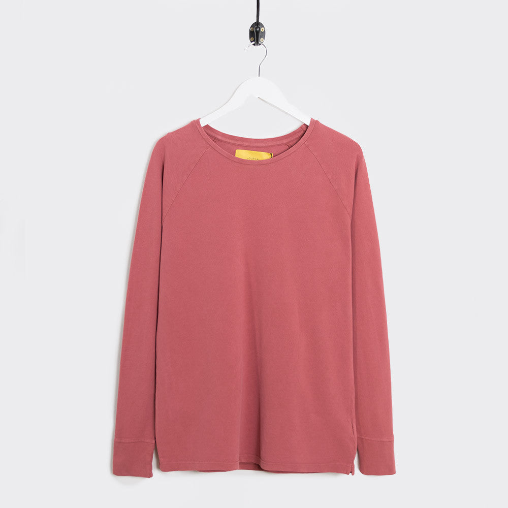 Journal Burn Long Sleeve T-Shirt - Marsala Pink - 1