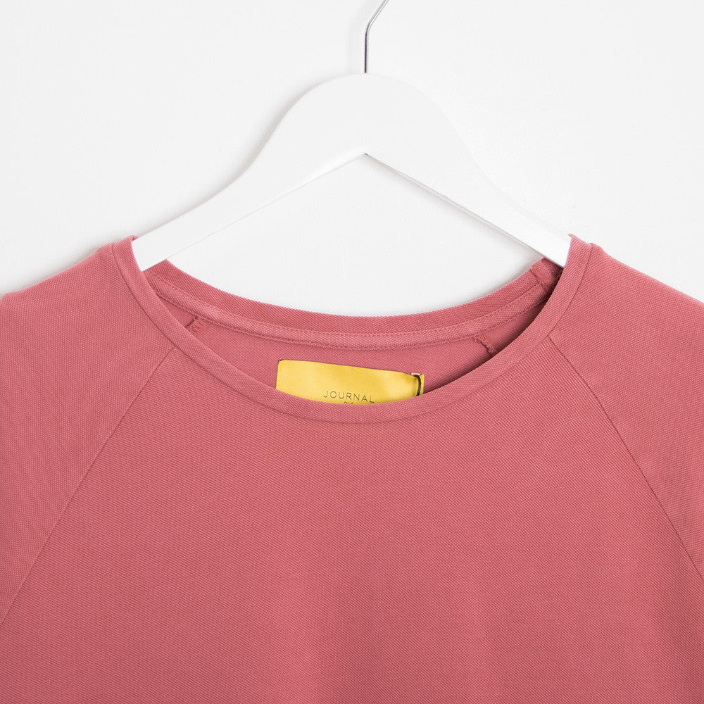 Journal Burn Long Sleeve T-Shirt - Marsala Pink - 2