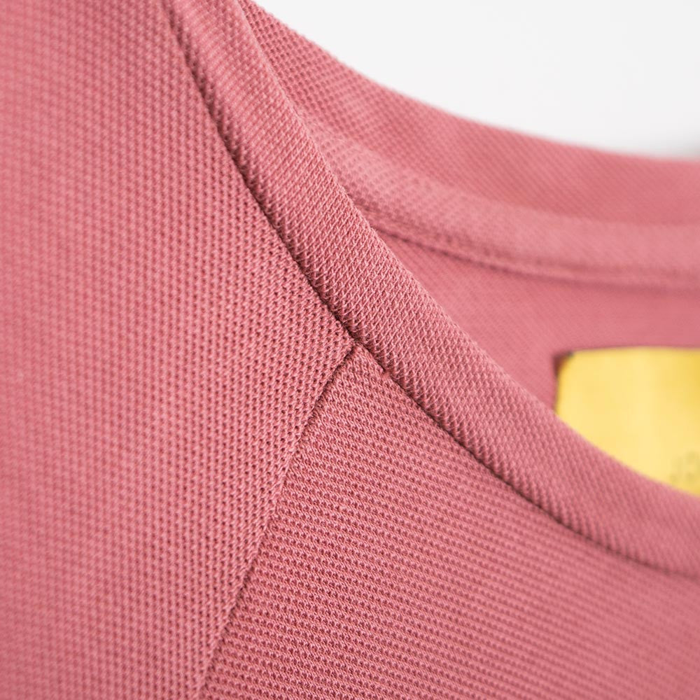 Journal Burn Long Sleeve T-Shirt - Marsala Pink - 3