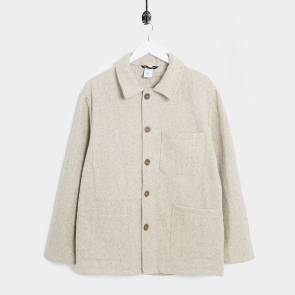Le Laboureur Veston Wool Work Jacket - Burel Beige - 1