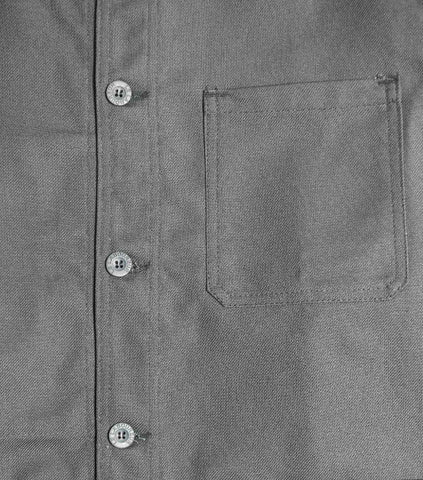 Le Laboureur Cotton Drill Jacket - Grey Jacket - CARTOCON