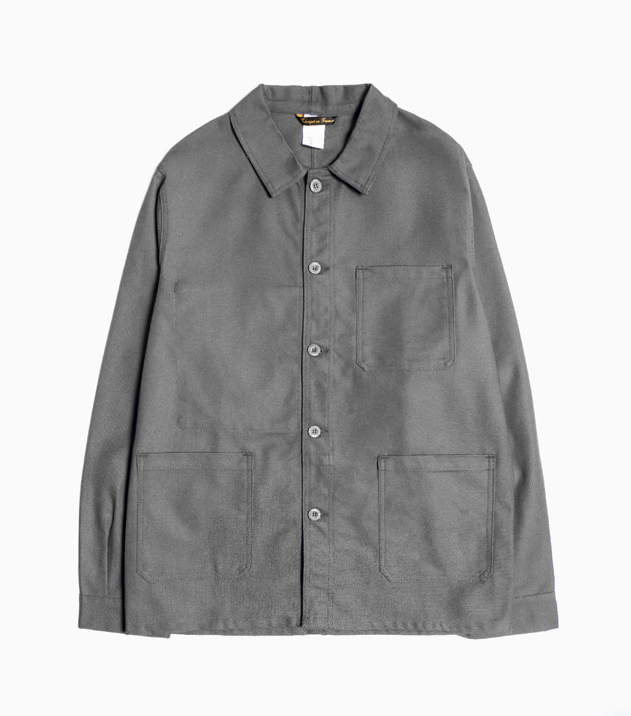 Le Laboureur Cotton Drill Jacket - Grey