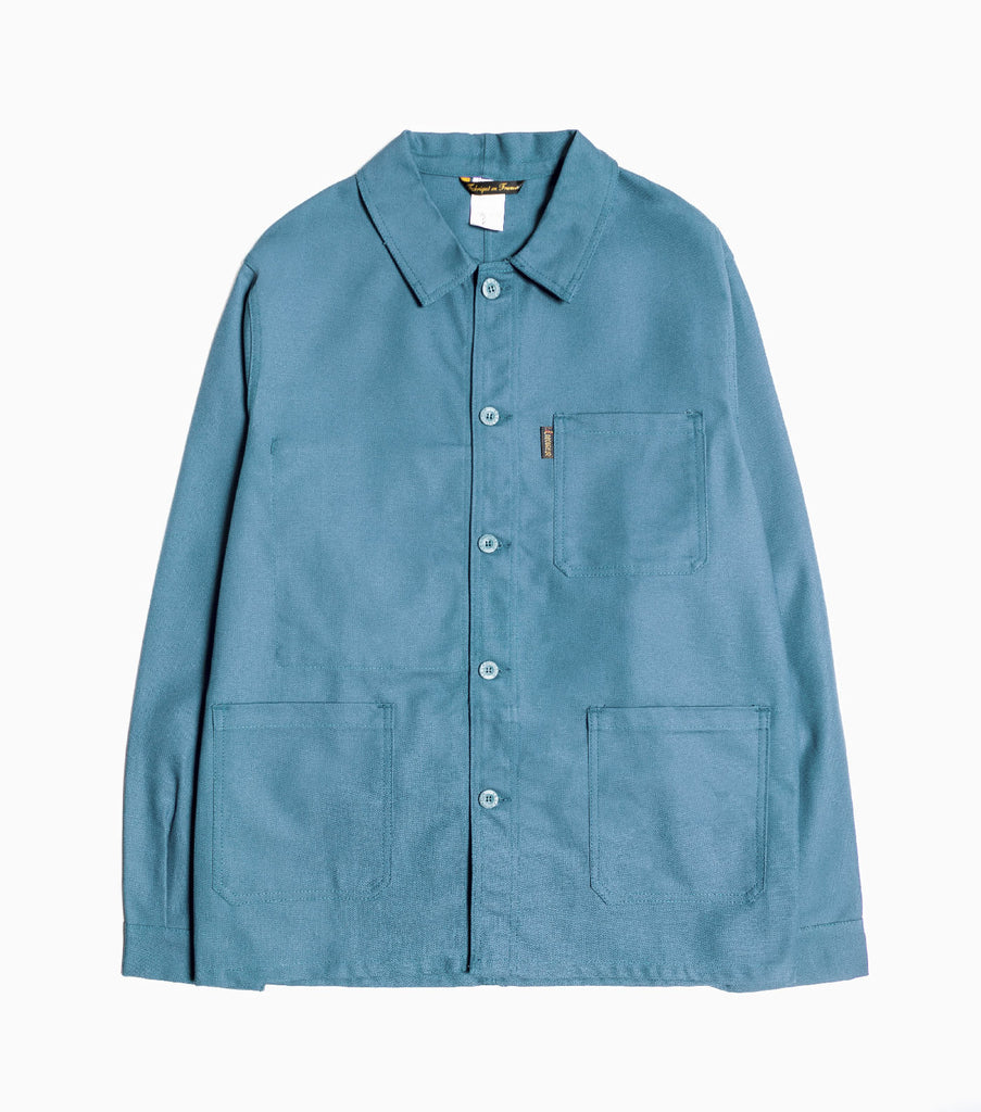 Le Laboureur Cotton Drill Jacket - Green