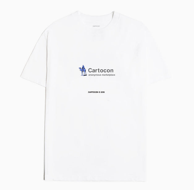 CARTOCON Liberate SR T-Shirt - White T-Shirt - CARTOCON
