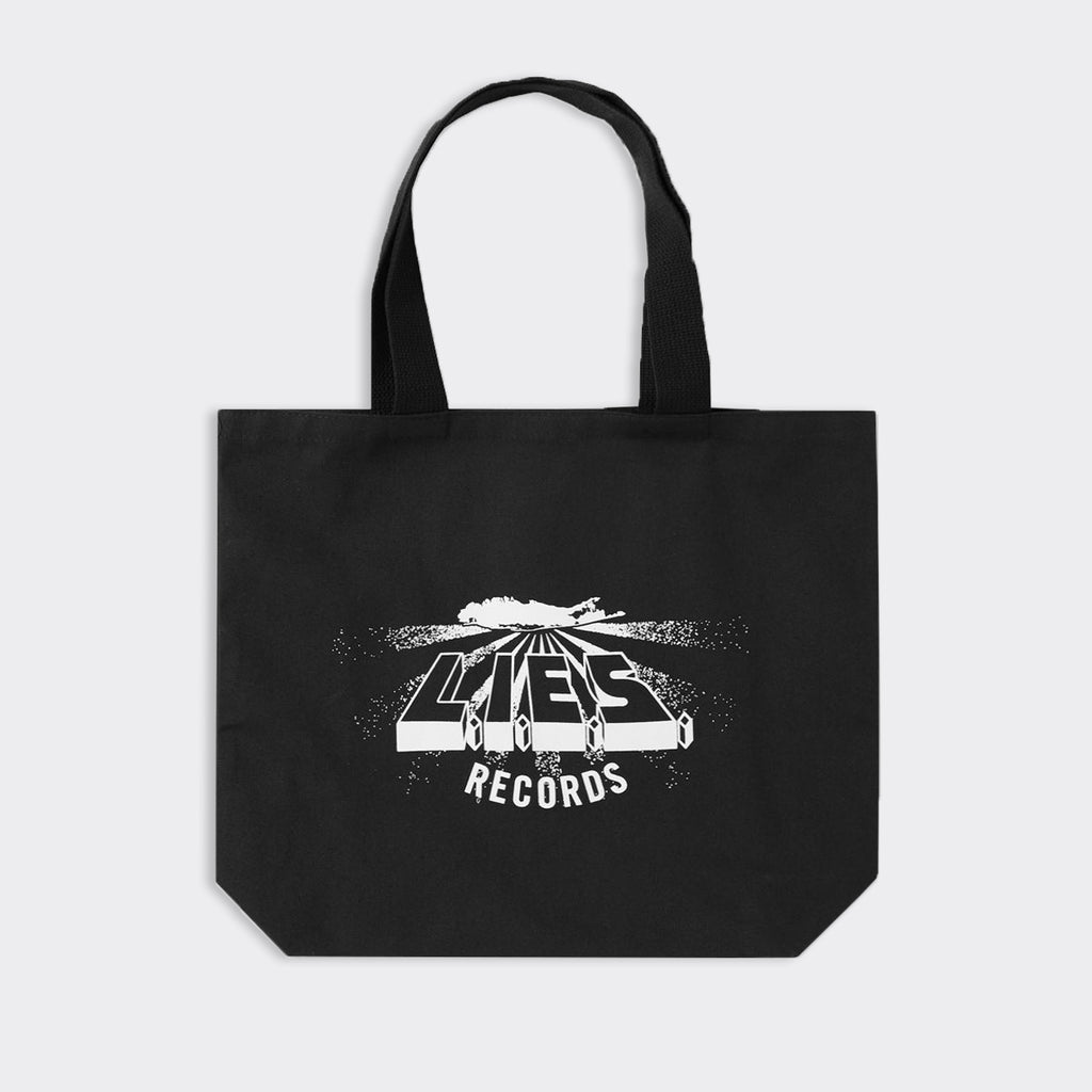 L.I.E.S. Records Logo Tote Bag - Black