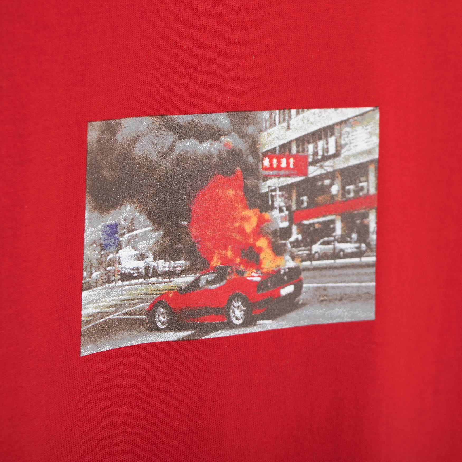 Lo-Fi Ferrari T-Shirt - Red