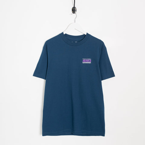 Lo-Fi Meditation T-Shirt - Harbour Blue Not Listed - CARTOCON