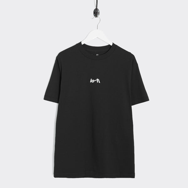 Lo-Fi Micro Logo T-Shirt - Black Not Listed - CARTOCON