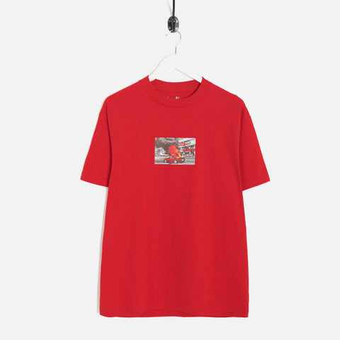 Lo-Fi Ferrari T-Shirt - Red Not Listed - CARTOCON
